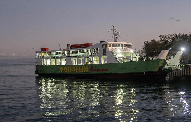 montenegro ferry