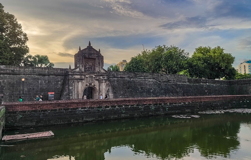 Fuerte de Santiago Intramuros