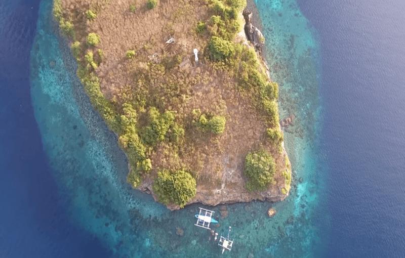 isla pescador Moalboal