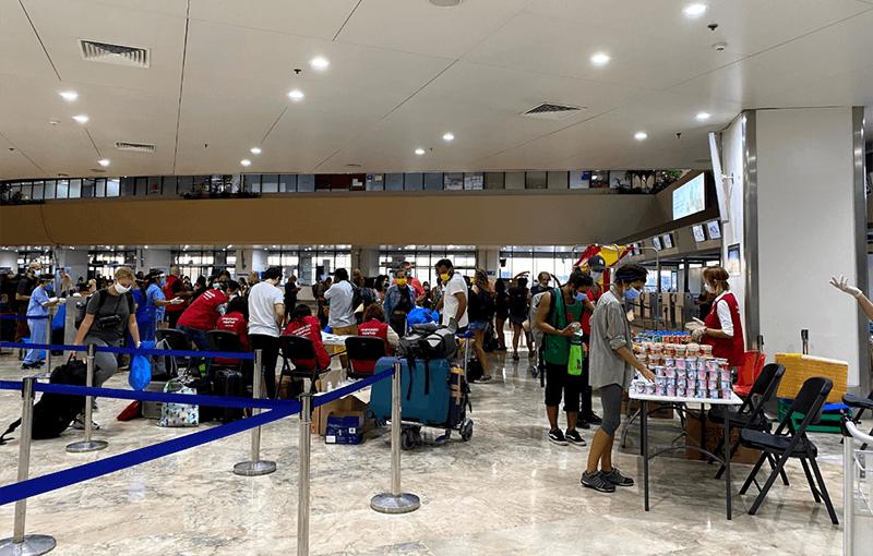 aeropuerto Filipinas covid19